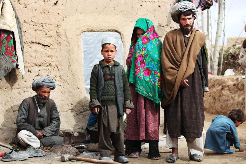 Khal og familien, jan 2010